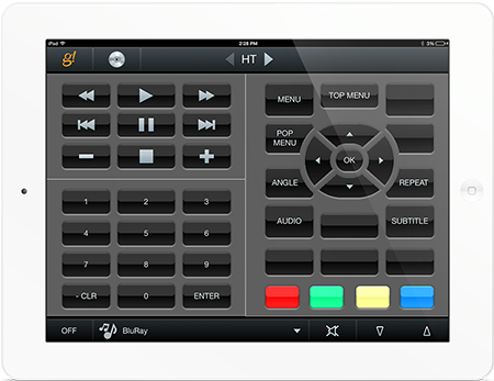 Ipad Theater Remote